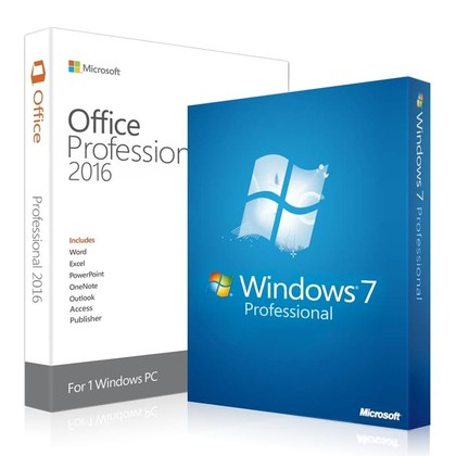 Windows 7 Professional + Office 2016 Professional Key