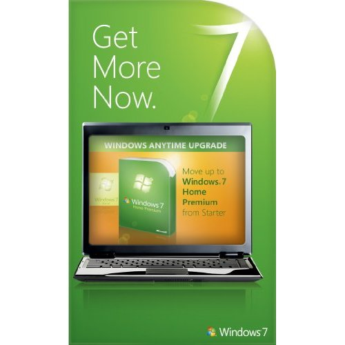 Windows 7 Starter to Home Premium Anytime Upgrade