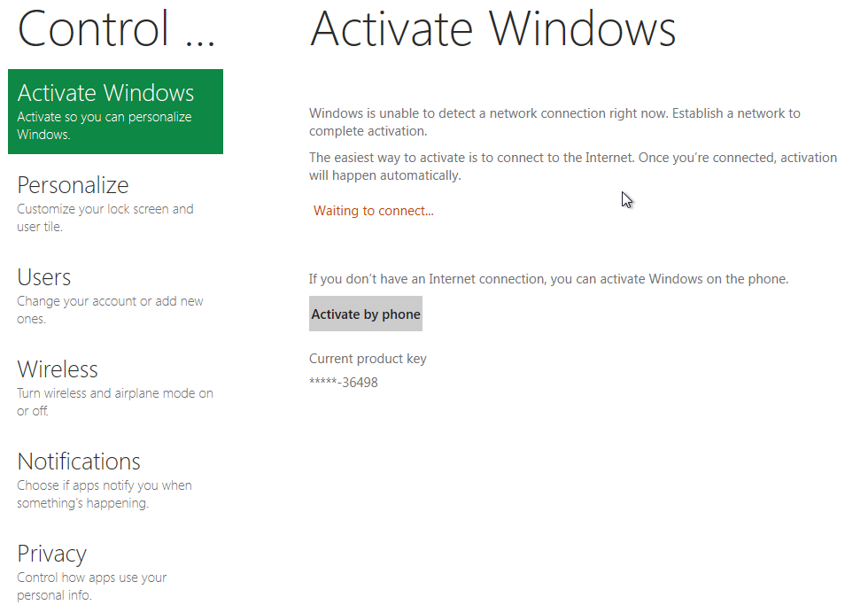 how to activate Windows 8 automatically